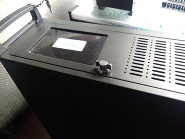 Rack 4U ATX μαύρο με τροφοδοτικό 450W