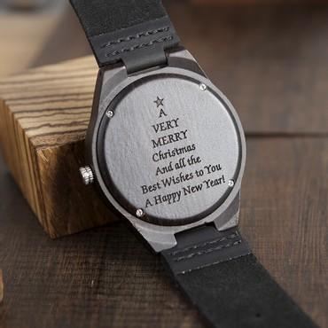 Ξύλινα ρολόγια με χάραξη