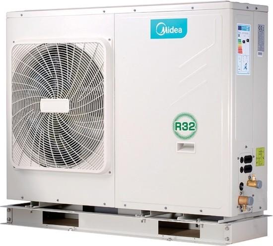 Midea Μονοφασική Αντλία θερμότητας M-THERMAL MHC-V9W/D2N8 Monoblock Full DC INVERTER 60°C 8,5kW