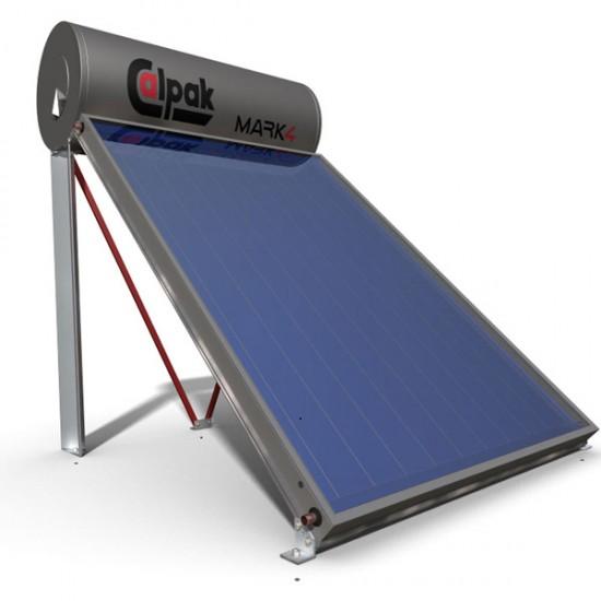 Calpak Mark 4 160lt/2.1m² Glass Επιλεκτικός Διπλής Ενέργειας
