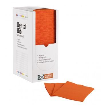 Οδοντιατρική πετσέτα Πορτοκαλί