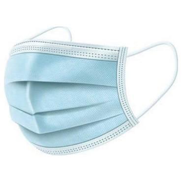 Ιατρική Μάσκα 3ply με λάστιχο - Γαλάζιο