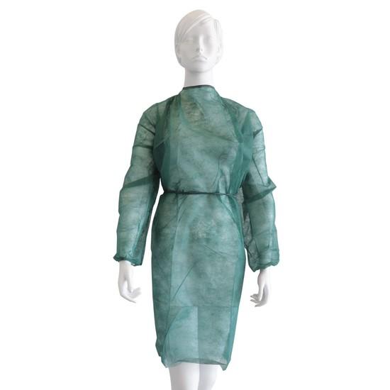Εξεταστική μπλούζα πράσινο σκούρo