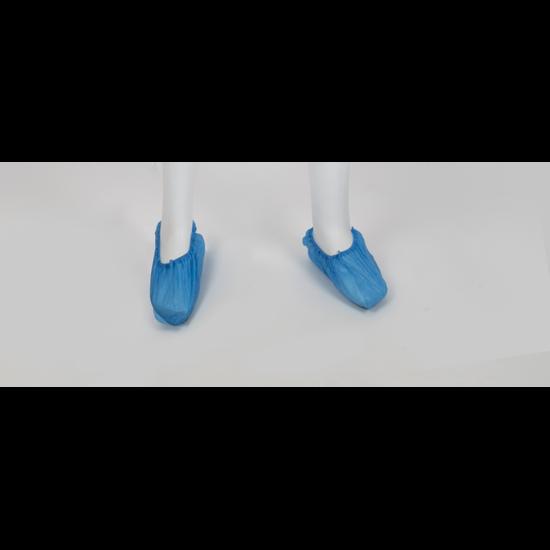 Ποδονάρια πλαστικά μιας χρήσης μπλε